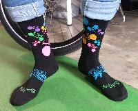 Colorful Bicycle Socks
