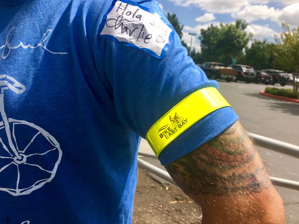 Free Reflective Gear for Class Participants