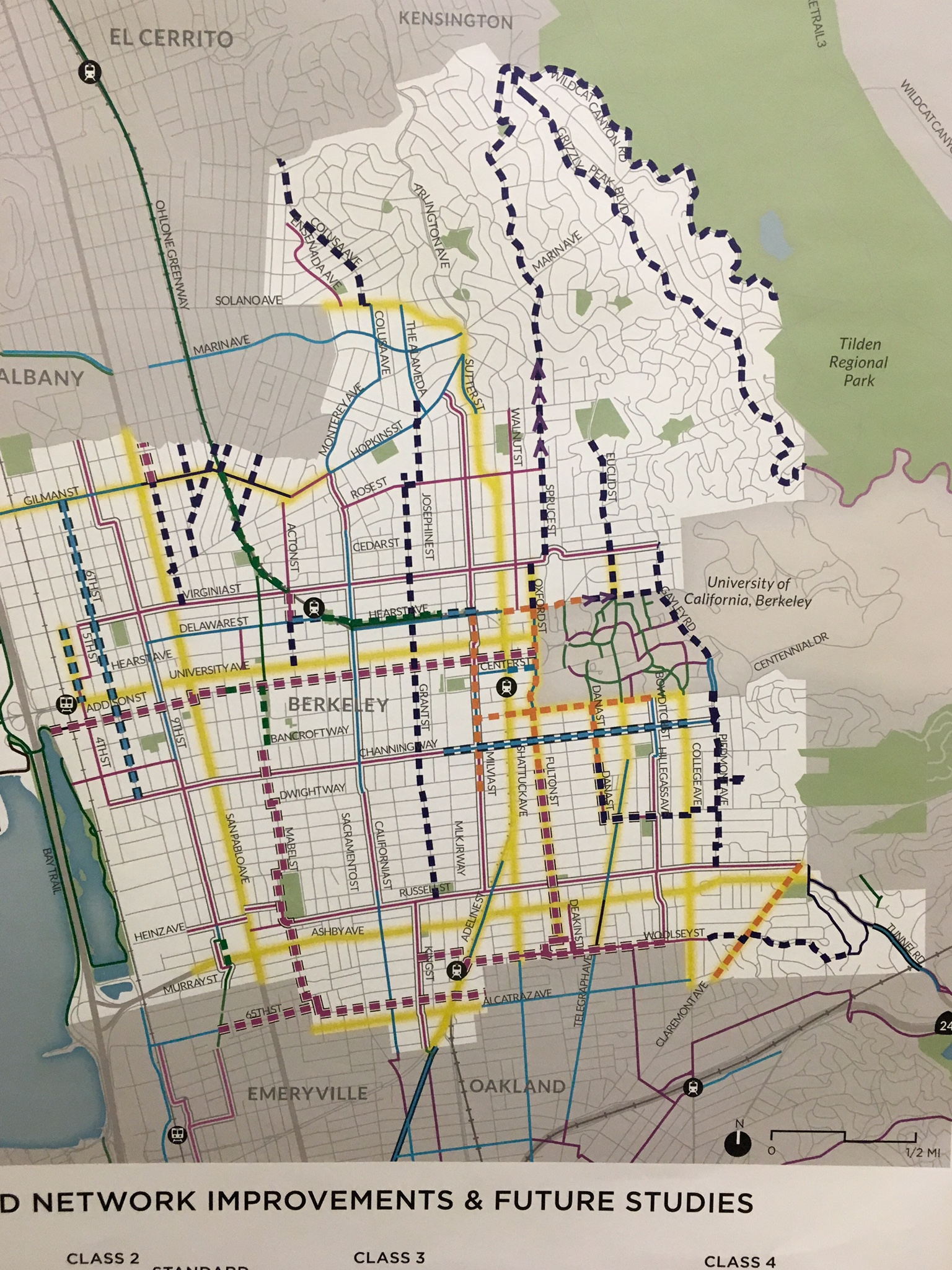 More Protection Berkeley Draft Bike Plan Lacking Bike East Bay