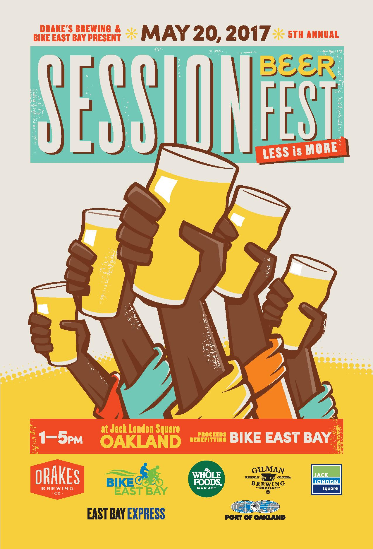 5th Annual Session Beer Fest | Bike East Bay