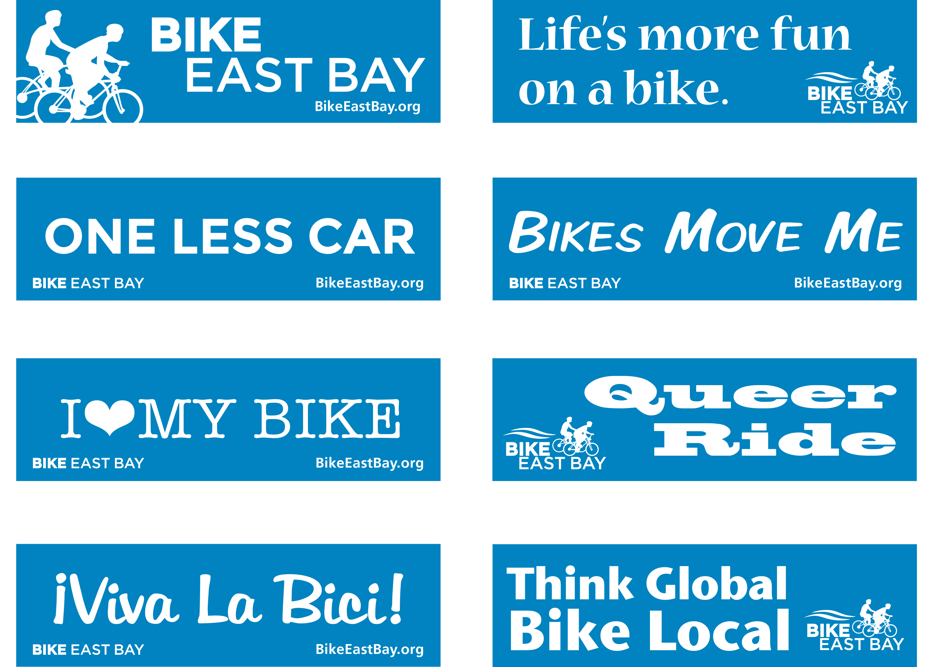 Design a bike sticker - Previous Designs