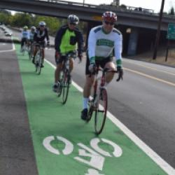 Going green: Pleasanton's bike lanes aim for safer, more bike-friendly community