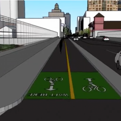 14th Street Gets $10.5 Million for Protected Bike Lanes
