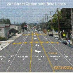 23rd Street Traffic Calming bring a new bikeway to San Pablo and Richmond
