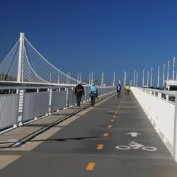 Bay Bridge Bike Path Opens to Yerba Buena Island