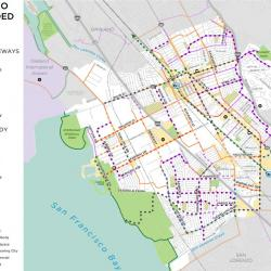 Ask for Protected Bikeways in San Leandro
