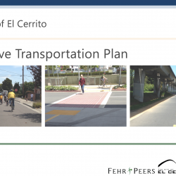 Our Comments on El Cerrito's Active Transportation Plan