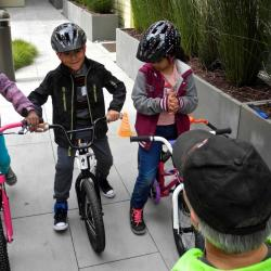 Partnering with Affordable Housing to Get More Kids on Bikes