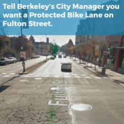 We Go to Berkeley City Council March 15 for Fulton Street Bike Lane