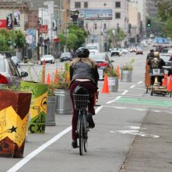 Check Out Our Protected Bike Lane One-Day Demos