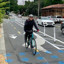 Walnut Creek Cycletrack Faces Pushback