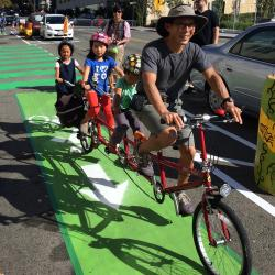 Hearst Avenue Protected Bike Lanes Open this Fall