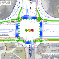 Raised Bikeway Concept Unveiled for Mission Blvd. in Cherryland