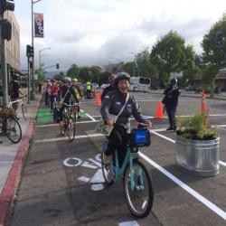 Berkeley and Castro Valley Pop-Up Bikeways Big Hits