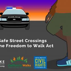 Support the Freedom to Walk Act