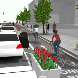 Our Letter to Staff Urging Protected Bike Lanes on Hearst Ave