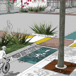 Protected Bike Lanes, i.e. 'Cycle Tracks,' coming to El Cerrito, Berkeley, Alameda