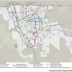 Pleasanton's Draft Pedestrian and Bike Plan Ready for Comments